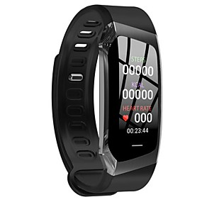 cheap Smart Wristbands-E18 Smart Watch BT 4.0 Fitness Tracker Support Notify & Heart Rate Monitor Waterproof Wristband for Samsung/HUAWEI/IPhone