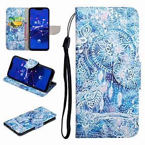 Недорогие Чехлы и кейсы для Huawei серии Y-Кейс для Назначение Huawei Honor 9 / Honor 8 / Huawei Honor 7 Бумажник для карт / со стендом / Флип Чехол Мультипликация Твердый Кожа PU