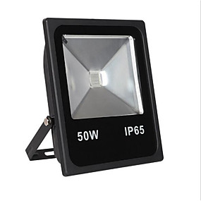povoljno LED reflektori-1pc 50 W LED reflektori Vodootporno / Daljinski upravljano / Infracrveni senzor RGB 85-265 V Vanjska rasvjeta / Dvorište / Vrt 1 LED zrnca / Zatamnjen