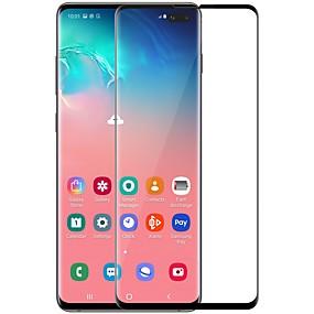 Недорогие Чехлы и кейсы для Galaxy S-Samsung GalaxyScreen ProtectorGalaxy S10 Plus HD Защитная пленка для экрана 1 ед. Закаленное стекло