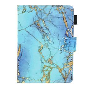 Недорогие Чехол для других планшетов-Кейс для Назначение KOBO kobo clara HD Бумажник для карт / Защита от удара / С узором Чехол Мрамор Твердый Кожа PU