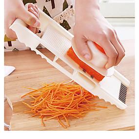 رخيصةأون أدوات & أجهزة المطبخ-5 في 1 متعددة الوظائف الفولاذ المقاوم للصدأ مبشرة الخضار تقطيع الخضار قطع الماندولين الجزرة مبشرة البصل المقامر