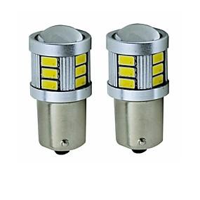 olcso Car Signal Lights-SENCART 2pcs BA15S (1156) / BAY15D(1178) Motorbicikli / Autó Izzók 5 W SMD 5630 450 lm 18 LED Irányjelző / Hátsó lámpa / Féklámpák Kompatibilitás Univerzalno