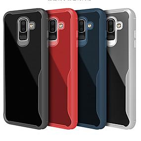 voordelige Galaxy J7 Hoesjes / covers-hoesje Voor Samsung Galaxy J8 (2018) / J7 Prime / J7 (2018) Ultradun / Transparant Achterkant Effen Zacht TPU