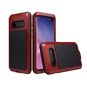 voordelige Galaxy S7 Hoesjes / covers-hoesje Voor Samsung Galaxy S9 / S9 Plus / S8 Plus Waterbestendig / Schokbestendig / Stofbestendig Volledig hoesje Effen Hard Metaal