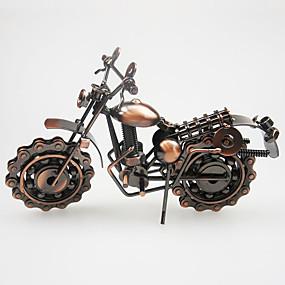 رخيصةأون ديكورات خشب-دراجة نارية نموذج زخرفة المعادن هجر الفاظ الزينة