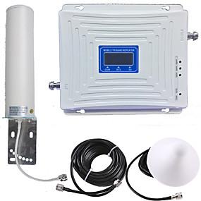 povoljno Tehnologija i gadgeti-2g / 3g / 4g mobilni repetitor signala pojačavač signala pojačavač signala 900/1800/2100 dvopojasni gsm / dcs / wcdma pametni telefon mobitel za dom i zgradu
