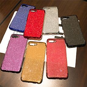voordelige Huawei Honor hoesjes / covers-hoesje Voor Huawei Huawei Honor 10 / Eer V20 / Honor 9 Beplating / Glitterglans Achterkant Transparant / Glitterglans Zacht TPU