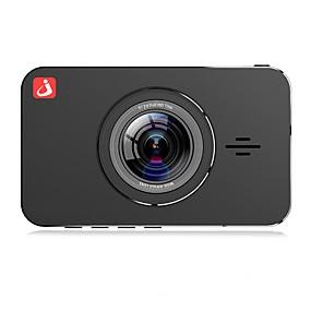 Недорогие Видеорегистраторы для авто-junsun h9p 1296p hd boot автоматическая запись автомобильный видеорегистратор 170 градусов широкоугольный всенаправленный объектив 4689 3-дюймовый ips видеорегистратор с ночным видением / g