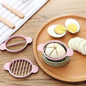זול אביזרים וגאדג'טים למטבח-חותך ביצה מבצע רב תכליתי מבצע ביצה למטבח ביצים חיתוך 3in1 גאדג'טים כלי בישול מפצל ביצים