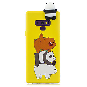 Недорогие Чехлы и кейсы для Galaxy Note 8-Кейс для Назначение SSamsung Galaxy Note 9 / Note 8 С узором Кейс на заднюю панель Мультипликация Мягкий ТПУ