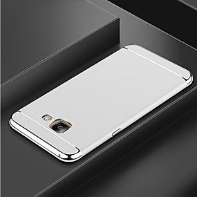 voordelige Galaxy S7 Edge Hoesjes / covers-hoesje Voor Samsung Galaxy S9 / S9 Plus / S8 Plus Beplating Achterkant Effen Hard PC