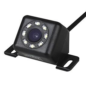 Недорогие Автоэлектроника-Ziqiao 12 светодиодные фонари 170-градусного ночного видения водонепроницаемый автомобильная камера заднего вида резервного копирования