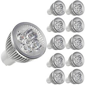 ieftine Spoturi LED-10pcs 5 W Spoturi LED 450 lm E14 GU10 GU5.3 5 LED-uri de margele LED Putere Mare Decorativ Alb Cald Alb Rece 85-265 V / 10 bc / RoHs