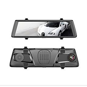 Недорогие Видеорегистраторы для авто-Factory OEM V6 1080p Автомобильный видеорегистратор 150° Широкий угол 10 дюймовый IPS Капюшон с WIFI / GPS / Пульт управления Автомобильный рекордер
