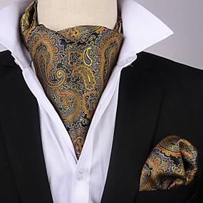 povoljno MEN SALE-Muškarci Print / Paisley uzorak / Žakard Zabava / Szélálló Svečane kravate