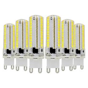 baratos Luminárias de LED  Duplo-Pin-YWXLIGHT® 6pcs 7 W Luminárias de LED  Duplo-Pin 600-700 lm G9 T 152 Contas LED SMD 3014 Regulável Branco Quente Branco Frio 220-240 V 110-130 V