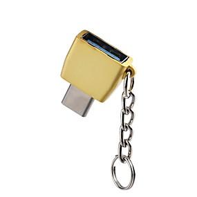 olcso OTG kábel-OTG / C típusú Adaptor OTG cink ötvözet USB kábeladapter Kompatibilitás Samsung / Huawei / LG