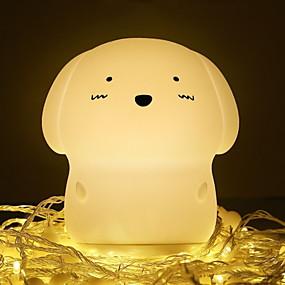 رخيصةأون مصابيح ليد مبتكرة-1PC الصمام ليلة الخفيفة أبيض دافئ USB إبداعي <=36 V