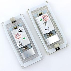 Недорогие Задние фонари-2x белый для bmw e46 4d седан 5d универсал (98-05) светодиодный свет номерного знака canbus