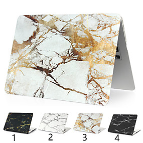 "cheap MacBook Air 11"" Cases-For MacBook Pro Air 11-15 Computer Case 2018 2017 2016 Release A1989 / A1706 / A1708 With Touch Strip PVC Hard Shell Marble"