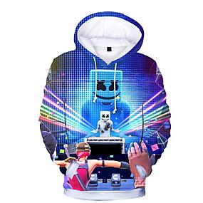 cheap Christmas Deals-Kids Toddler Boys' Active Basic Print Print Long Sleeve Hoodie & Sweatshirt Rainbow