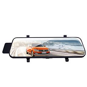 Недорогие Видеорегистраторы для авто-L6 1080p Автомобильный видеорегистратор 170° Широкий угол 3.8 дюймовый LCD Капюшон с G-Sensor / Циклическая запись Автомобильный рекордер