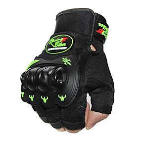 Недорогие Мотоциклетные перчатки-Half-палец Все Мотоцикл перчатки Смешанные материалы Дышащий / Износостойкий / Защитный