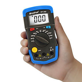 رخيصةأون أجهزة القياس الرقمية & أجهزة قياس الذبذبات-Holdpeak hp-36d السعة متر يده capacimetro دليل 1999 التهم مكثف الإلكترونية lcd السعة المتر فاحص