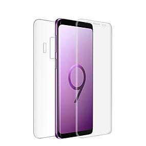 Недорогие Чехлы и кейсы для Galaxy S-Samsung GalaxyScreen ProtectorS9 HD Защитная пленка для экрана и задней панели 1 ед. Закаленное стекло