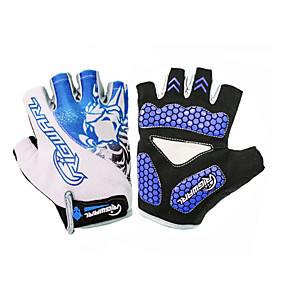 Недорогие Мотоциклетные перчатки-Half-палец Универсальные Мотоцикл перчатки Нейлон ПВА Non Slip