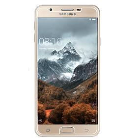 Недорогие Защитные пленки для Samsung-Samsung GalaxyScreen ProtectorOn7(2016) HD Защитная пленка для экрана 2 штs Закаленное стекло