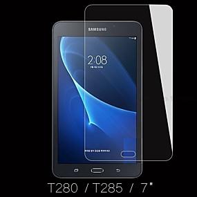 Недорогие Galaxy Tab Защитные пленки-Samsung GalaxyScreen ProtectorTab A 7.0 (2016) Уровень защиты 9H Защитная пленка для экрана 1 ед. Закаленное стекло