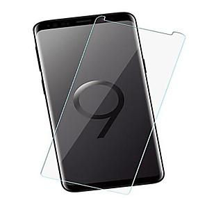 Недорогие Чехлы и кейсы для Galaxy S-защитная пленка для samsung galaxy s8 / s9 закаленное стекло Защитная пленка для передней панели 10 шт. высокое разрешение (hd) / твердость 9 ч / взрывозащищенный