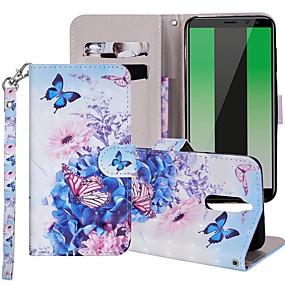 Недорогие Чехлы и кейсы для Huawei Mate-Кейс для Назначение Huawei Mate 10 / Mate 10 lite / Huawei Mate 20 lite Кошелек / Бумажник для карт / со стендом Чехол С собакой Твердый Кожа PU