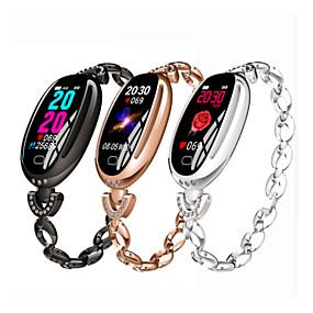 economico Braccialetti intelligenti-imosi E68 Da donna Intelligente Bracciale Android iOS Bluetooth Impermeabile Schermo touch Monitoraggio frequenza cardiaca Misurazione della pressione sanguigna Sportivo Cronometro Pedometro Avviso