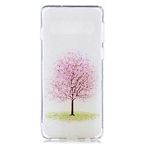 voordelige Galaxy S7 Hoesjes / covers-hoesje Voor Samsung Galaxy S9 / S9 Plus / S8 Plus Transparant / Patroon Achterkant Boom Zacht TPU