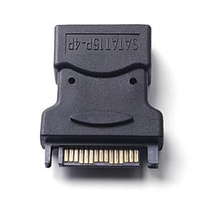olcso Számítógépes periferiális egységek-litbest ide 4pin női sata 15p merevlemez hálózati adapter csatlakozóhoz