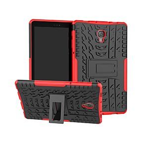 Недорогие Чехлы и кейсы для Galaxy Tab E 9.6-Кейс для Назначение SSamsung Galaxy Tab S4 10.5 (2018) / Tab A2 10.5(2018) T595 T590 / Tab S3 9.7 Защита от удара / со стендом Кейс на заднюю панель броня Твердый ПК
