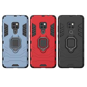 Недорогие Чехлы и кейсы для Huawei Mate-Кейс для Назначение Huawei Huawei P20 / Huawei P20 Pro / Huawei P20 lite Защита от удара / Кольца-держатели Кейс на заднюю панель броня Твердый ПК