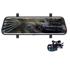 voordelige Auto DVR's-V700 1080p HD Auto DVR 170 graden Wijde hoek CMOS 10 inch(es) IPS Dash Cam met Nacht Zicht / G-Sensor / Parkeermodus Autorecorder