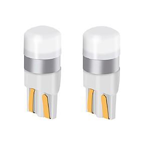 Недорогие Тормозные огни-2 шт. T10 w5w автомобиль светодиодная лампа 9 В-24 В 200LM ультра яркий светодиодные лампы номерного знака огни / указатели поворота / задний свет / купольная лампа