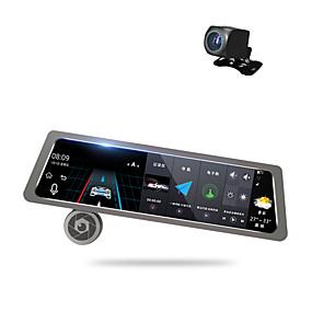Недорогие Видеорегистраторы для авто-Factory OEM D10 1080p Автомобильный видеорегистратор 170° Широкий угол 10 дюймовый Капюшон с GPS / Режим парковки / Циклическая запись Автомобильный рекордер