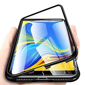Недорогие Чехлы и кейсы для Huawei Mate-магнитный чехол для huawei nova 5 pro / honor 20 pro / mate 20 pro 360-градусный односторонний телефон из закаленного стекла металлический чехол Fundas магнитные чехлы для huawei p30 pro / p20 lite /