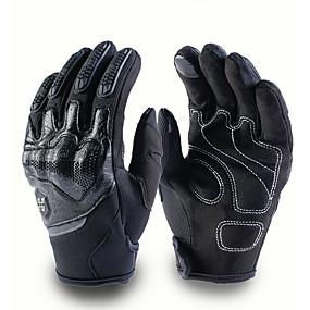 voordelige Motorhandschoenen-moto motorcross handschoenen mannen vrouwen off-road motorfiets volledige vinger touchscreen handschoenen