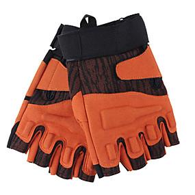 voordelige Motorhandschoenen-half-vinger heren motorhandschoenen poly urethaan antislip / anti-slijtage / ademend