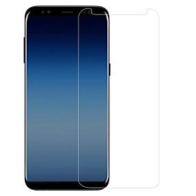 Недорогие Чехлы и кейсы для Galaxy A-Samsung GalaxyScreen ProtectorGalaxy A7(2018) Уровень защиты 9H Защитная пленка для экрана 1 ед. Закаленное стекло
