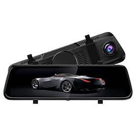 voordelige Auto DVR's-S-8 1080p Auto DVR 170 graden Wijde hoek CMOS 10 inch(es) IPS Dash Cam met Nacht Zicht / Parkeermodus / Continu-opname Autorecorder