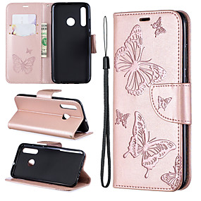 cheap Samsung Galaxy S10 Plus-Samsung mobile phone case anti-drop with card slot clip type embossed butterfly pattern for Samsung S10/S10 PLUS/S10E/S9/S9PLUS/All-inclusive mobile phone case