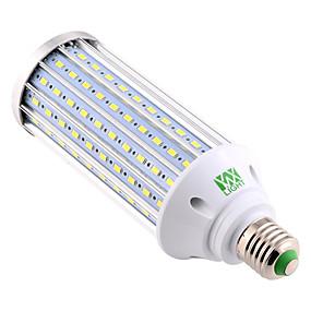 voordelige Huis & Tuin-YWXLIGHT® 1pc 60 W LED-maïslampen 5850-5950 lm E26 / E27 160 LED-kralen SMD 5730 Decoratief Warm wit Koel wit Natuurlijk wit 220 V 110 V 85-265 V / 1 stuks / RoHs